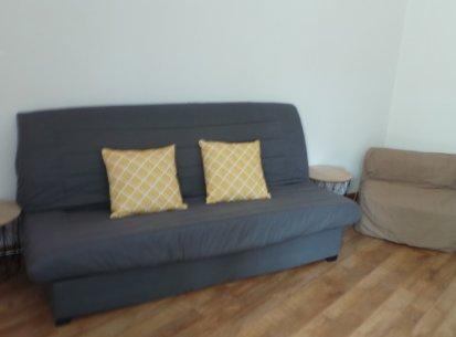 espace couchage appartement Prapoutel
